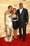 Holly robinson-Peete, Rodney Peete, ήρωες CNN, Hollies, Holly robinson-Peet, Holly Robinson Στοκ Εικόνες