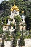 Holly Russian Church in Jeruzalem - Israël - Maria Mary Magdalena Stock Foto