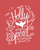 Holly Spirit Royalty Free Stock Images