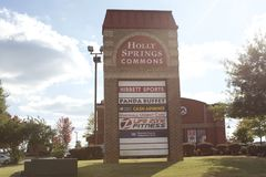 Holly Springs Commons, Holly Springs, Mississippi photos libres de droits