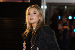 Holly Valance At The King's Speech Premiere Royalty Free Stock Image