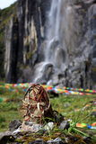 Holly waterfall Stock Photo