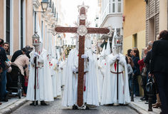 Holly Week a Badajoz Fotografia Stock Libera da Diritti