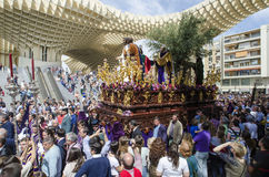 Holly Week in Seville Royalty Free Stock Photo