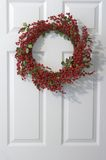 Holly Wreath Royalty Free Stock Photography