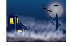 Hollyday Halloween Arkivfoto