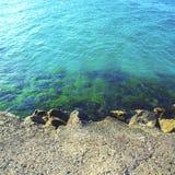 Hollyday nearby sea - Mediterranean Seashore. Hollyday nearby the sea - Mediterranean Seashore Stock Images