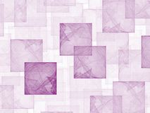 Hollyhock Cubes. High res flame fractal in Hollyhock color, filling the frame with multiple cubes stock photos