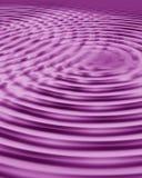 hollyhocken ripples vatten Arkivbilder