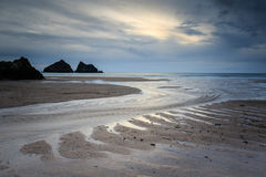 Hollywell bay Stock Photography