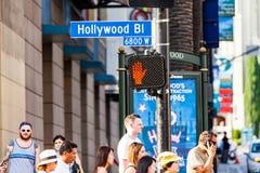 Hollywood, Λος Άντζελες Στοκ εικόνα με δικαίωμα ελεύθερης χρήσης