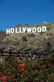 hollywood σημάδι Στοκ φωτογραφίες με δικαίωμα ελεύθερης χρήσης