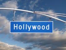 hollywood σύστημα σηματοδότησης Στοκ φωτογραφίες με δικαίωμα ελεύθερης χρήσης