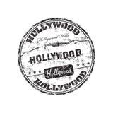 штемпель hollywood иллюстрация вектора