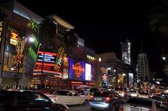 бульвар hollywood Стоковое Изображение RF