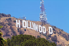 hollywood arkivbild