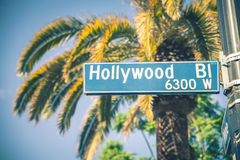 hollywood Stockbild