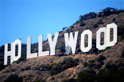 Hollywood. Sign in Los Angeles, California Stock Photo