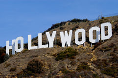Hollywood Image libre de droits