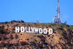 hollywood royaltyfri foto