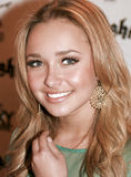 Hollywood actress Hayden Panettiere. Attends Hollywood fashion industry party at the Roxy Royalty Free Stock Image