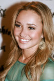 Hollywood actress Hayden Panettiere Royalty Free Stock Photos