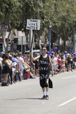 Hollywood ad ovest, Los Angeles, California, U.S.A., il 14 giugno 2015, quarantesimo gay annuale Pride Parade per la Comunità di  Fotografia Stock