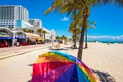 Hollywood Beach Florida Stock Photo
