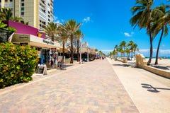 Hollywood Beach Florida Stock Photos