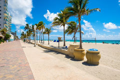 Hollywood Beach Florida Stock Images