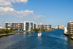 Hollywood Beach, Florida skyline Royalty Free Stock Photo