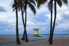 Hollywood Beach Royalty Free Stock Photos