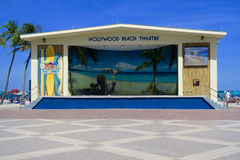 Hollywood Beach Theatre Stock Images