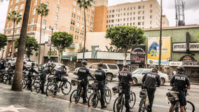Hollywood Bicycle Police 1 Stock Images