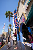 Hollywood Blvd CA Royaltyfria Bilder