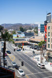 Hollywood Blvd by Day Stock Image
