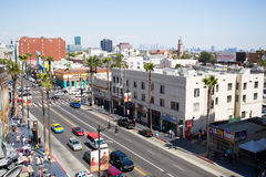 Hollywood Blvd by Day Royalty Free Stock Images
