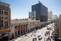 Hollywood Blvd by Day Stock Images