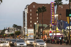 Hollywood Blvd Stock Photography