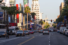 Hollywood Blvd Stock Image