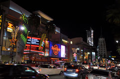 Hollywood Boulevard Royalty Free Stock Image
