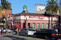 Hollywood Boulevard arkivfoto