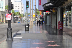Hollywood Boulevard California royalty free stock images
