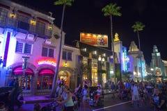 Hollywood boulevard, Disney World, lopp arkivfoton