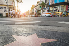 Hollywood Boulevard, Los Angeles Stock Image