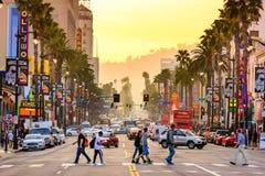 Hollywood Boulevard Royalty Free Stock Photography