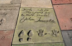 Hollywood Boulevard, Los Angeles, USA stockfotografie