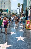 Hollywood Boulevard Royalty Free Stock Photos