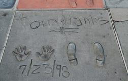 Hollywood Boulevard, Los Angeles,USA Stock Photo