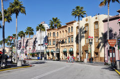 Hollywood Boulevard in Universal Orlando Royalty Free Stock Photography